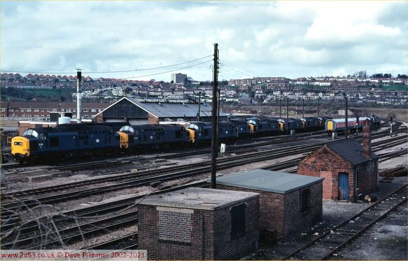 Railways Of North Wales 1975 1983 South Wales Ebbw Junction