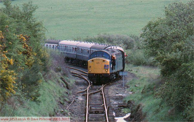 Railways Of North Wales 1975 1983 Gaerwen Specials