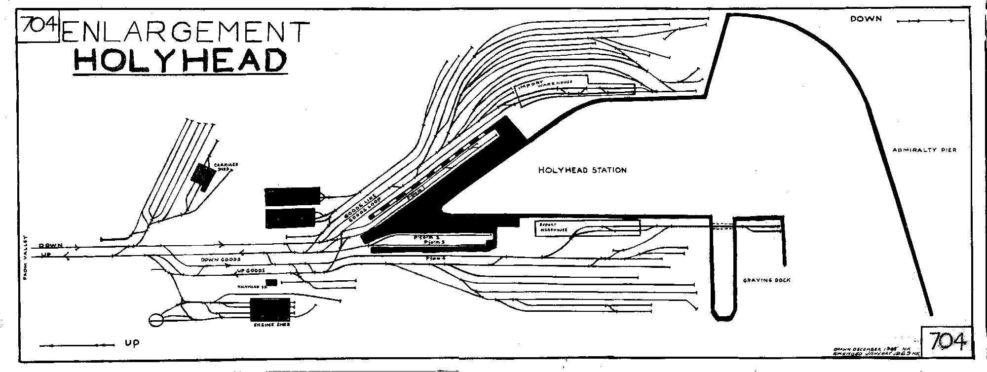 holyhead track diagram. Black Bedroom Furniture Sets. Home Design Ideas