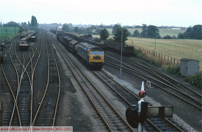 Railways Of North Wales 1975 1983 Wrexham Croes Newydd Yard